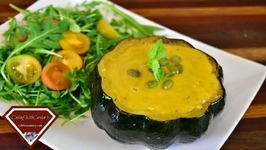 Easy Vegan Acorn Squash Soup - Vegan Recipe - Don't Be Afraid