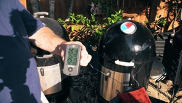 Sand vs Water on the WSM - Test 2  Same Temp on both Smokers