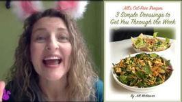 Siam I Am Salad W 3 Oil Free Dressings - Live Show