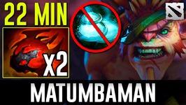 MATUMBAMAN Bristleback Highlights Dota 2