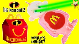 THE INCREDIBLES 2 Baby Jack Jack HAPPY MEAL Slime Belly - McDonalds Surprise Toy