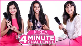 KREA Hair Straightening Brush - 4 Mins Challenge