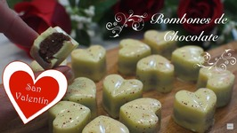 Bombones De Chocolate Caseros / Bombones Para San Valentin / Bombones Caseros / Bombones Chocolate