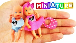 Diy No Sew Miniature Barbie Baby Clothes Stuff