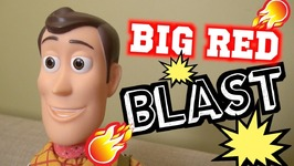 Toy Story 4 Big Red IRL - Woody Buzz Lightyear - Disney Pixar