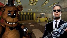 Minecraft Xbox - Five Nights At Freddy's - Men in black