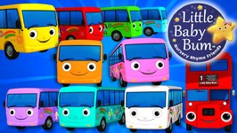 Ten Little Buses - Part 3 - Nursery Rhymes