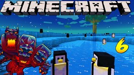 Minecraft Mods - MONSTERCRAFT - Ep  6 'WATER BENDING'