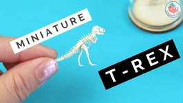 INCREDIBLE Miniature Paper T-Rex! How to Make a Tinysaurus