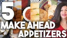 5 Make Ahead Appetizer Ideas - Holiday Planning - Kravings