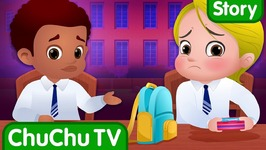 The Food Project at School - Bedtime Stories for Kids in English - ChuChu TV Storytime for Children