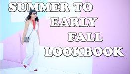 Summer to early Fall ish Lookbook