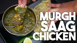 SAAG Chicken - Murgh Saagwala - PALAK Or Spinach CHICKEN CURRY