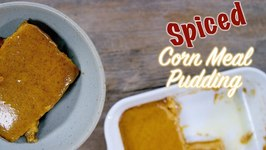 1928 Spiced Corn Meal Pudding