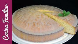Como hacer bizcocho de limón paso a paso con ganache de chocolate blanco