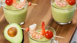 Chilled Avocado Gazpacho