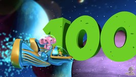 One to Hundred Numbers Song - Big Numbers Song - Educational Song for Kids