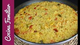 Arroz con pollo al curry - Recetas de arroz muy sabrosas