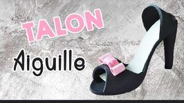 Talon Aiguille En Pâte À Sucre - High Heels Shoes