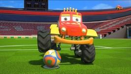 Monster Truck Dan - kung fu soccer