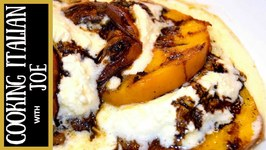 Grilled Peaches With Cheese