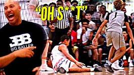 Lamelo Ball Destroys Defender's Ankles In Big Ballers Crazy Game Vs Gamepoint Elite Lavar Wildin