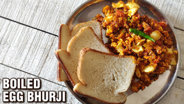 Boiled Egg Bhurji / How To Make Egg Bhurji Boiled Anda Bhurji Egg Recipe By Varun Inamdar