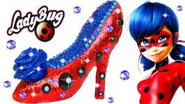 Play Doh Making Colorful Sparkle Disney Princess Shoes High Heels Miraculous Ladybug Glitter Dress