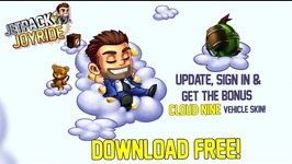 Jetpack Joyride - Welcome to The Cloud