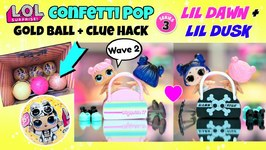 Lol Surprise Lil Punk Boi Confetti Pop Series 3 Wave 2