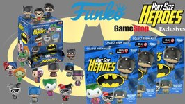 Pint Size Heroes Batman Set by Funko (Gamestop Exclusives)