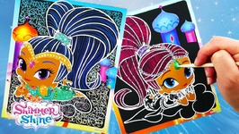 Shimmer And Shine Color Changing Scr