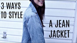 3 Ways To Style A Jean Jacket