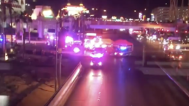 Emergency Services on the Scene of Vegas Mass Shooting