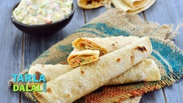 Chapati Roll With Vegetables -Kids Recipe