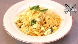 Cauliflower Spaghetti - Vegetarian Budget Recipe