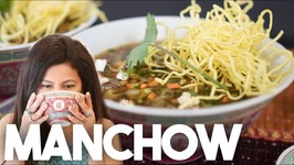 MANCHOW soup - Indo Chinese recipe