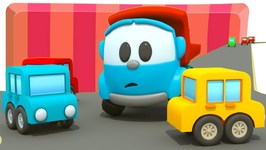 Leo the Truck - Parking for Cars for Kids- Kids Cartoons and Learning Videos- Learn Colors with Cars.