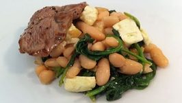 Lamb With Bean Salad