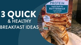 3 Actually Quick And Healthy Breakfast Ideas - Back To School Breakfast Haul