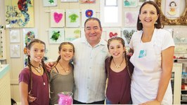 Florida Travel Emeril visits Art at Mary Hong in South Walton