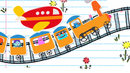 Aeroplane Aeroplane - Modes Of Transport - English Songs And Rhymes For Kids