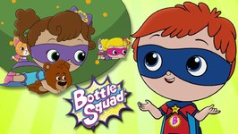 A Bear Balancing Act - Bottle Squad Superheroes - Superhero Babies - Cartoons For Kids - Baby Videos