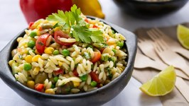 Herb Orzo Pasta Salad For Summer