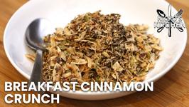 Breakfast Cinnamon Crunch / Sugar Free And Gluten Free / Keto Cereal Recipe