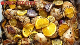 Oven Roasted Citrus Chicken