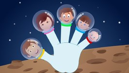 Finger Family - Astronauts - Nursery Rhyme Songs For Toddlers - Cartoon Videos For Kids