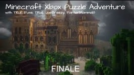 Minecraft Xbox Puzzle Adventure - Triplicity The Overgrown Facility -Finale