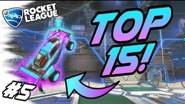 TOP 15 Rocket League GOALS 5 - Freestyles, Best Goals, Aerials, Competitive Plays -Montage