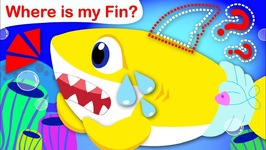 Where Is My Fin  Baby Shark Has Lost His Fin - Nursery Rhymes